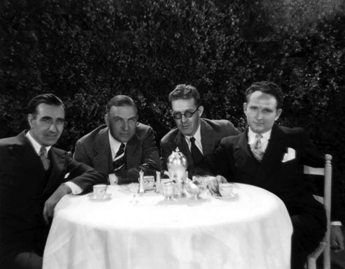 lloyd, king, ford & borzage.jpg